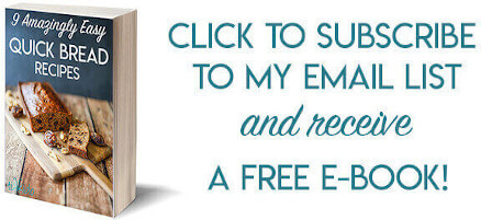 Free e-book: Quick Bread Recipes