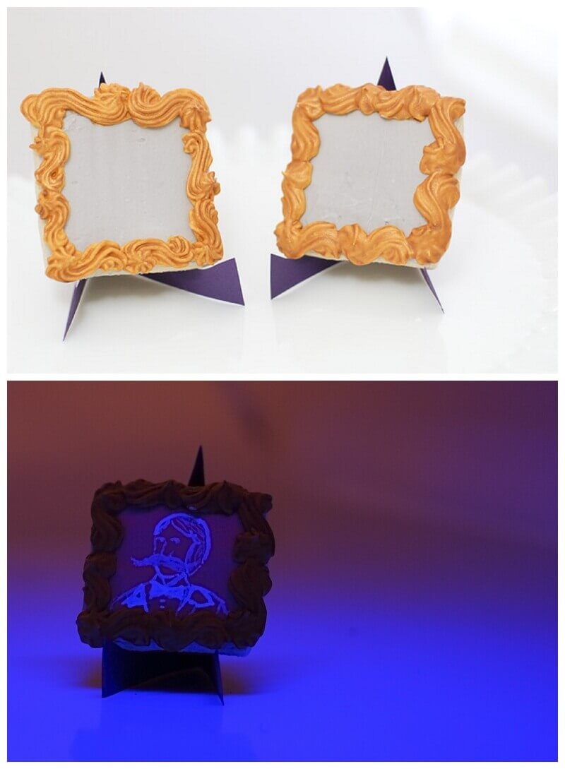 How to Make Haunted, Glow in the Dark Cookies | Tikkido.com