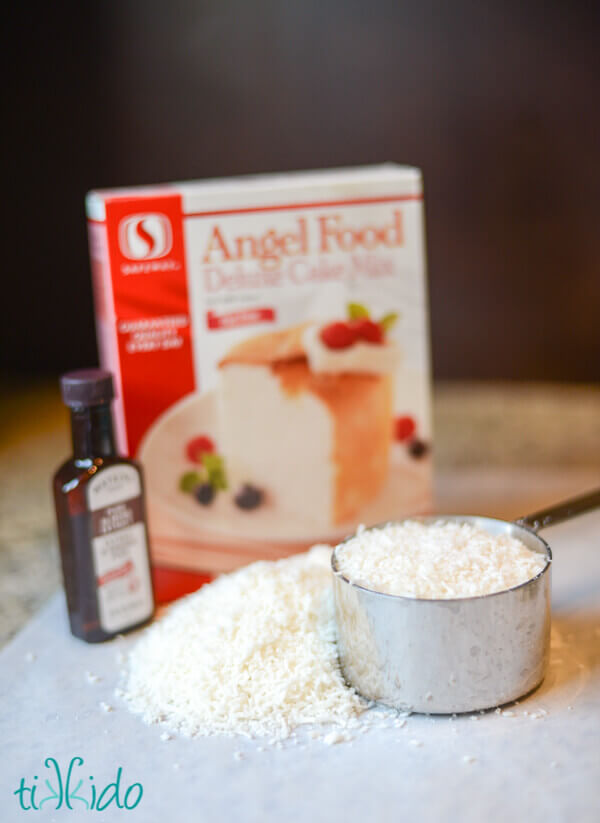 Macaroon Cookie Recipe With Angel Food Cake Mix