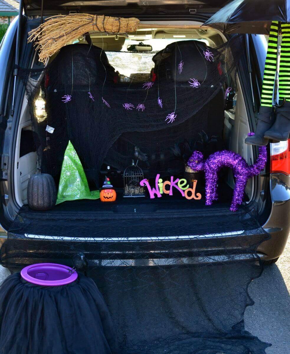 halloween trunk or treat blog hop - Halloween Trunk Or Treat Decorating Ideas