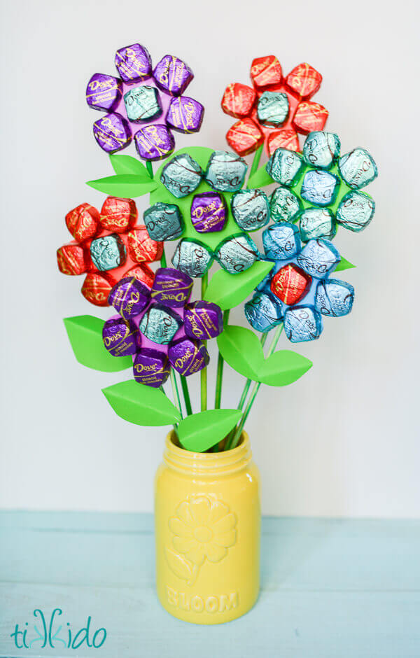 Chocolate bouquet for Mother's Day or Teacher Appreciation Day