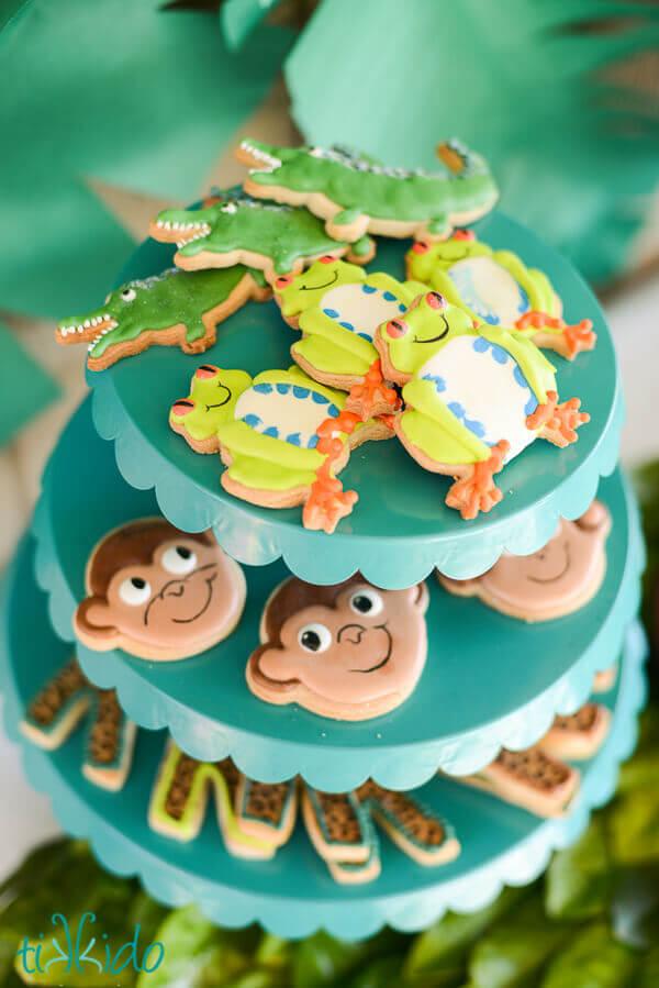 Jungle Jam Creative Birthday Party Feature Tikkido