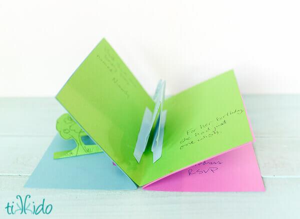 Easy Pop Up Card Invitation Tutorial