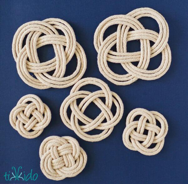 Easy Nautical Knot Headband Tutorial | Tikkido.com