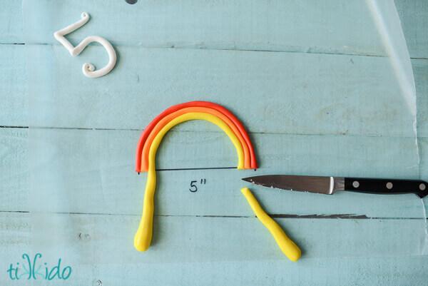 Easy Rainbow Cake Topper Tutorial Tikkido Com