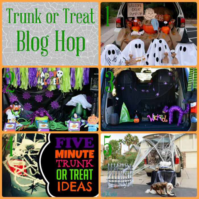 trunk or treat ideas this halloween ive teamed up with some of my fabulous blogger friends to bring you a collection of awesome ideas