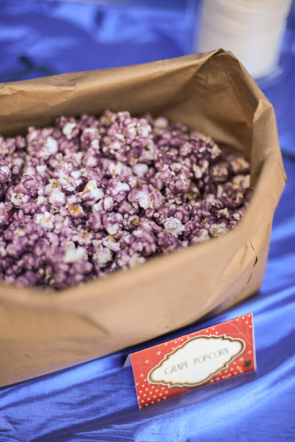 Grape Kool Aid popcorn candied popcorn recipe