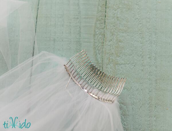 How to Make a Wedding Veil Tutorial | Tikkido.com