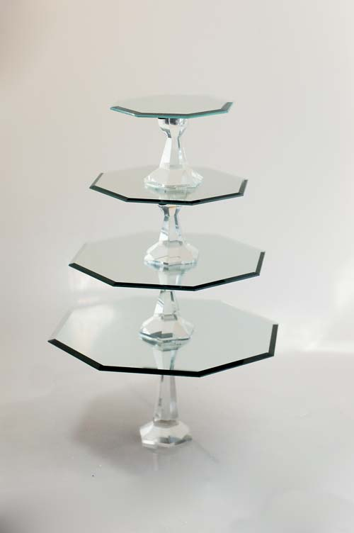 How to make mirrored cake stands for How to make a cake stand