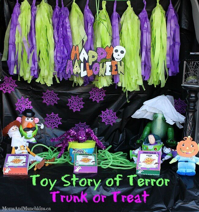 Halloween Trunk Or Treat Blog Hop Tikkidocom