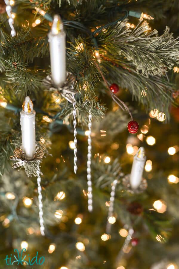 Cool How To Make Victorian Tinsel Christmas Ornaments Tikkido Com Easy Diy Christmas Decorations Tissureus