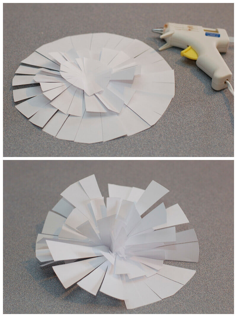 How To Make A Gorgeous Diy Paper Flower Backdrop For Under 20 Part