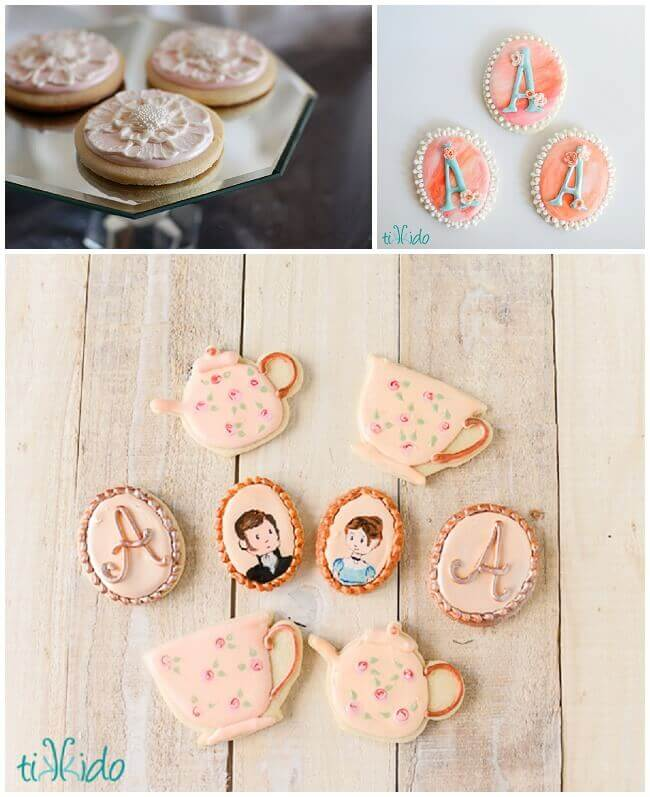 Sugar cookies made with the best cut out sugar cookie recipe.