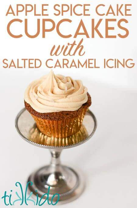 Apple Cake And Cupcake Recipe With Salted Caramel
