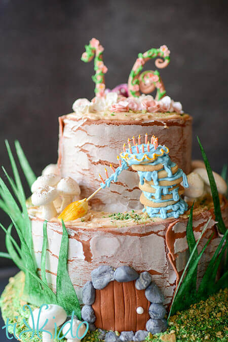 Rustic Fairy Birthday Cake Tikkido Com