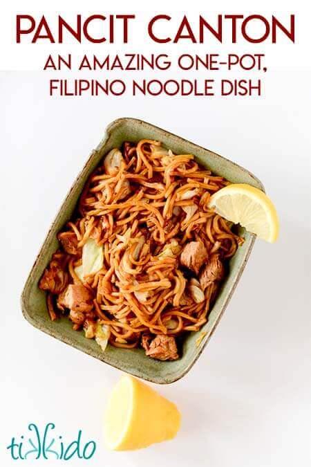 how to make filipino pancit noodles