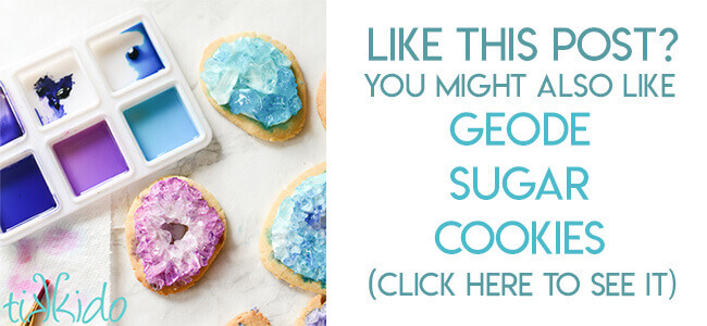 navigational image leading reader to geode sugar cookie decorating tutorial