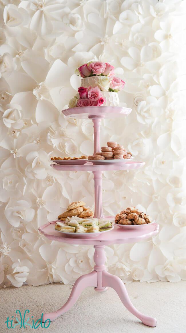 High Tea Birthday Party Tikkido