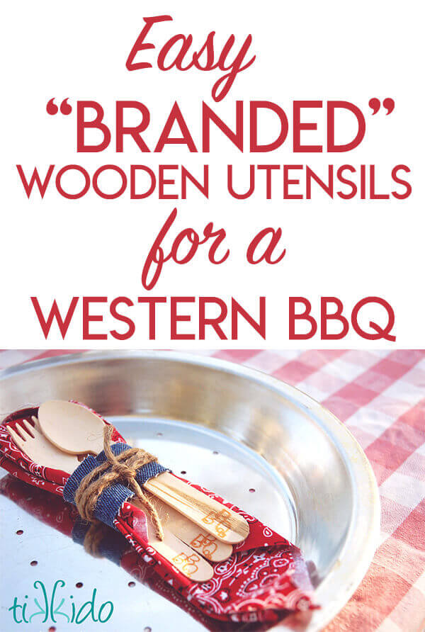Tutorial: How to make Branded Wooden Utensils from the Gold