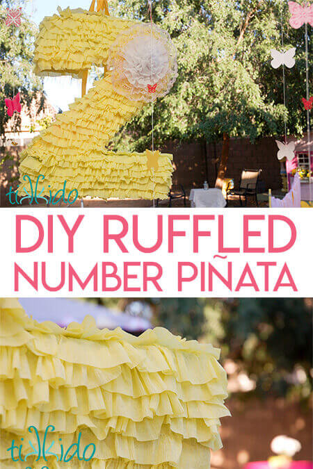 How to Decorate a Pinata with Crepe Paper Ruffles | Tikkido com