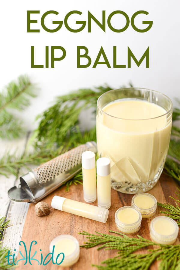 Eggnog Lip Balm Recipe (the Perfect DIY Christmas Gift