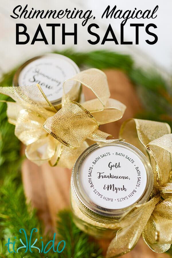 How to Make Shimmering, Magical Bath Salts | Tikkido com