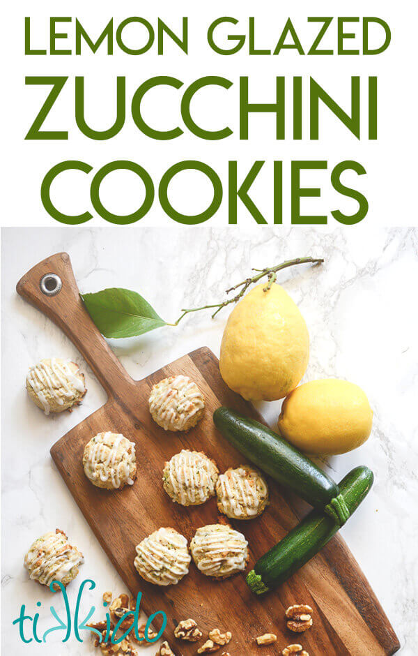 Use that summer zucchini to make these amazing soft zucchini cookies drizzled with lemon glaze.