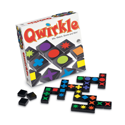 Image of Qwirkle board game for kids.