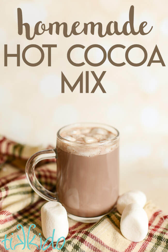 This homemade hot chocolate mix makes the best mug of cocoa ever!