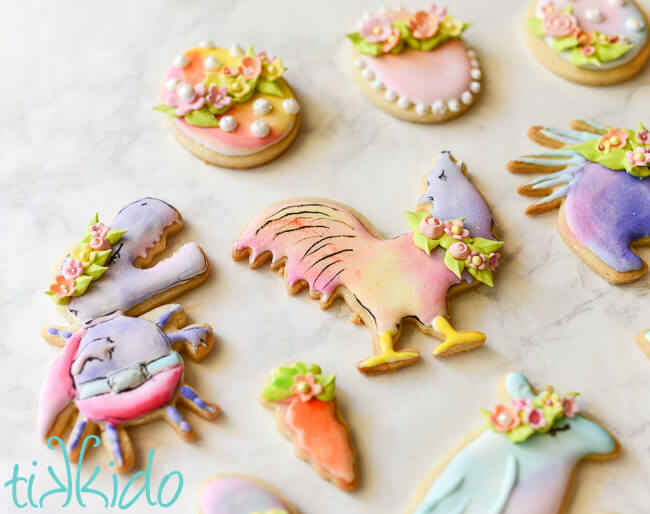 GISHWHES Mascot Sugar Cookies for Easter | Tikkido com