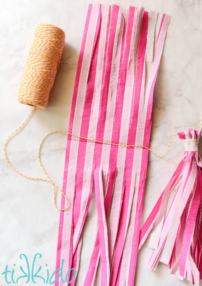 How To Make The Easiest Diy Tassel Garlands Tikkido Com