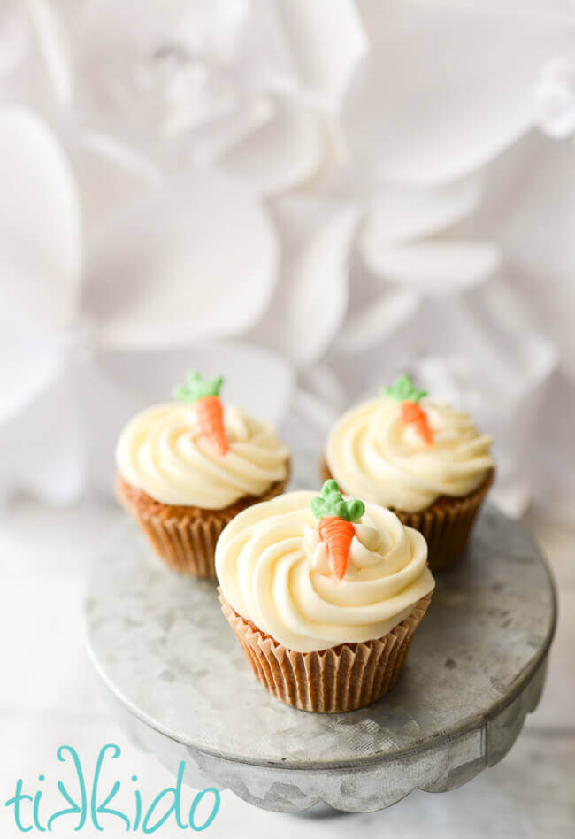 Edible Carrot Cake Toppers