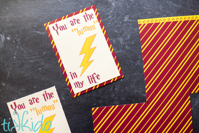 Free Printable Harry Potter Valentines Day Card Tikkido