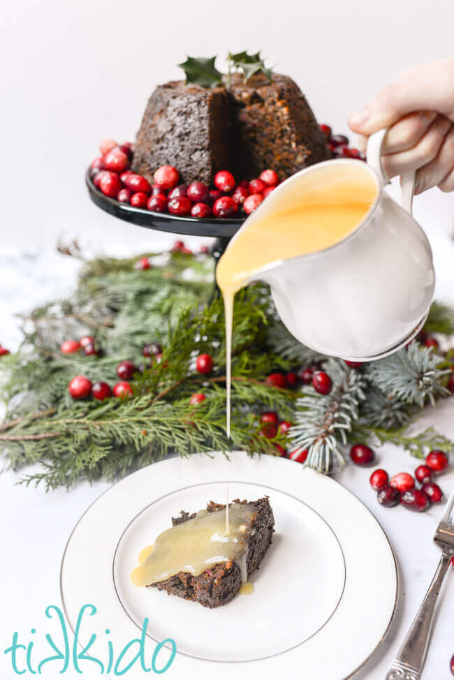 Cranberry Christmas Pudding Recipe