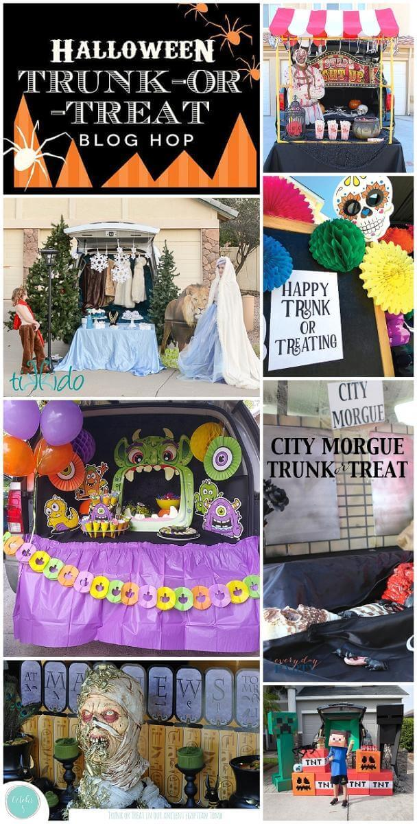 The Lion The Witch And The Wardrobe Trunk Or Treat And A Halloween