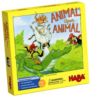 Animal upon Animal stacking game for children.