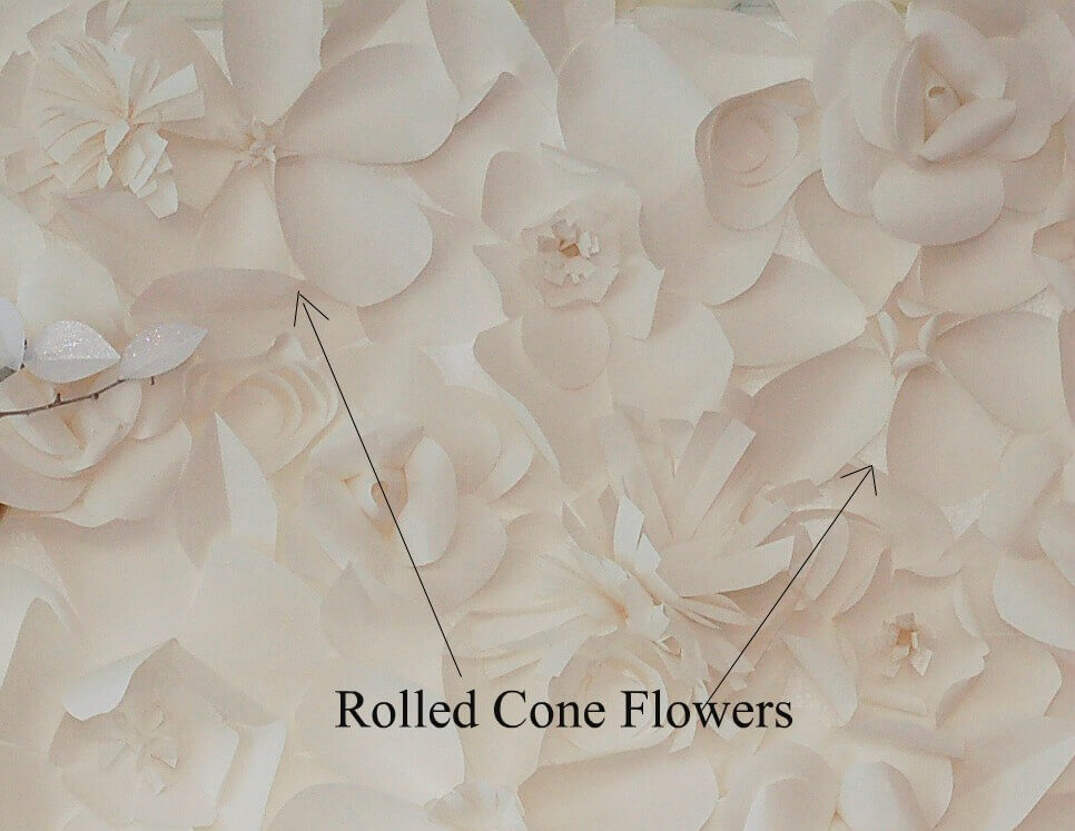 How to Make a Paper Flower Backdrop: Let\'s Finish It! | Tikkido.com