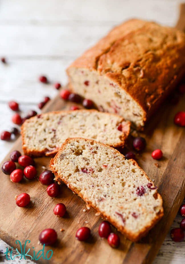 Cranberry Nut Quick Bread Recipe Tikkido Com