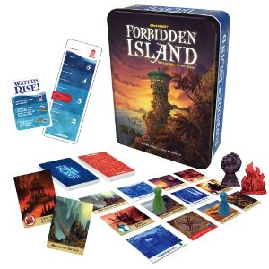 Image of Forbidden Island board game, part of the Great Games for the Whole Family collection.