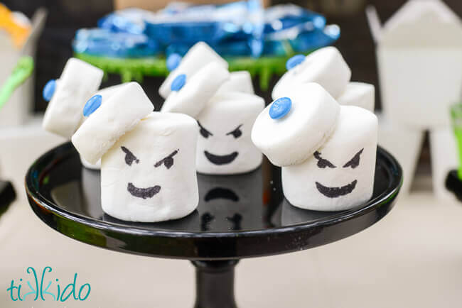 Ghostbusters Stay Puft Marshmallow Man Treats