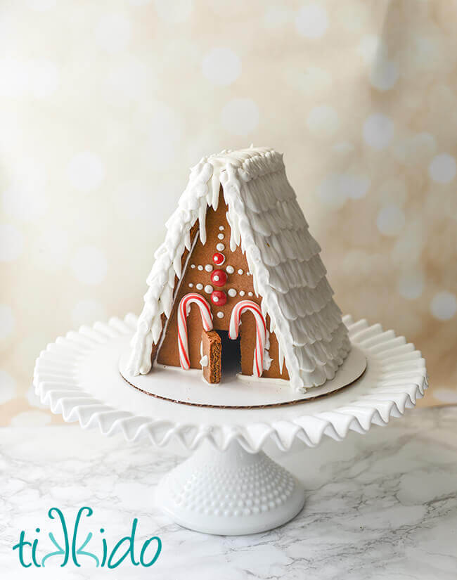 photograph relating to Printable Gingerbread House called The Perfect Gingerbread Area Recipe and Printable Gingerbread