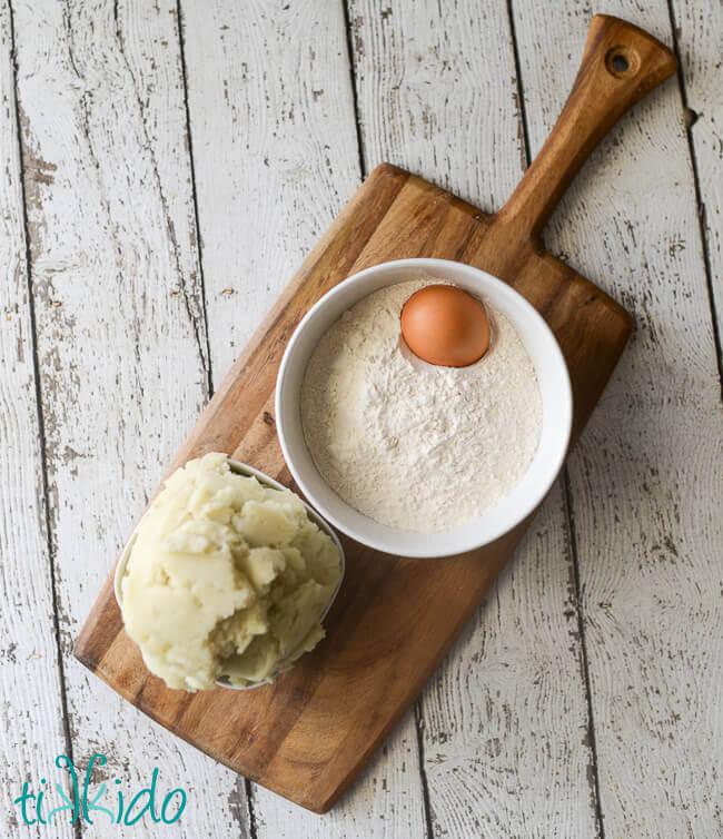 Kitchenaid Potato Masher potato gnocchi recipe: the march taste creations linkup | tikkido