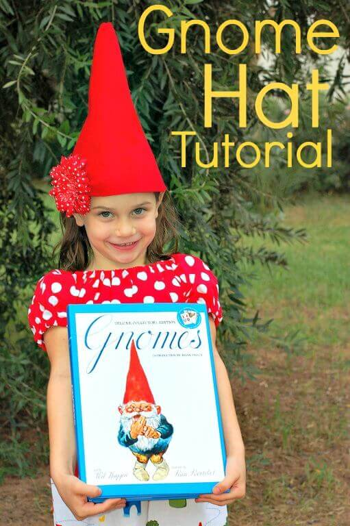 Tutorial for making a gnome hat out of felt. 0d24c408324