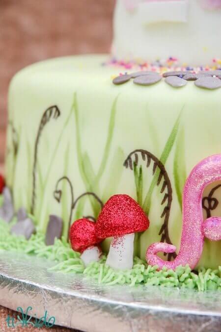 how to make mushroom cake pops