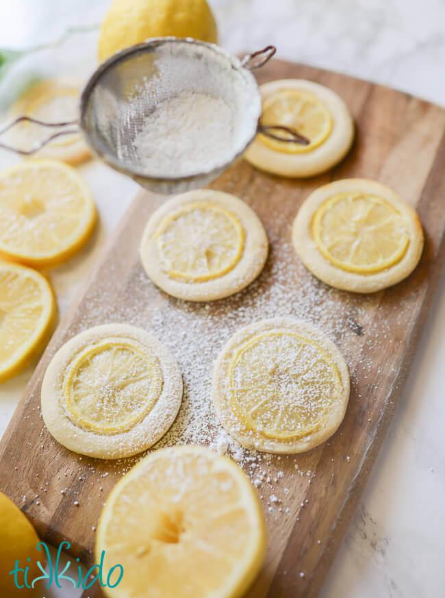 lemon slice cookies recipe with real lemon slices tikkido com