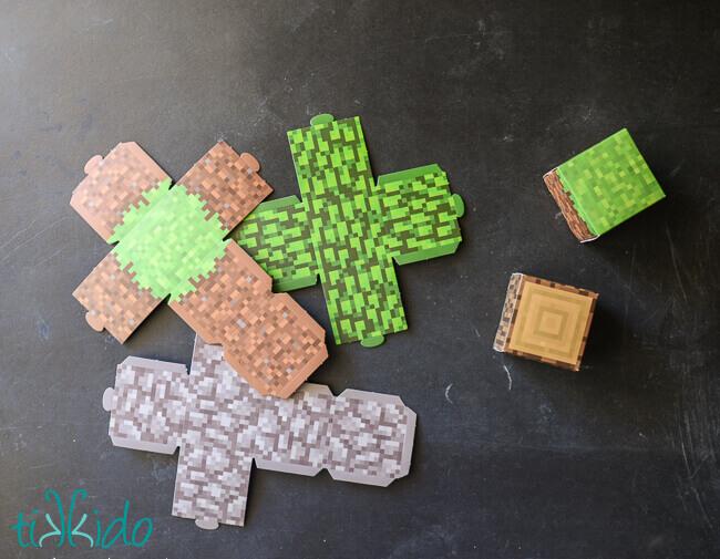 Minecraft Gift Wrapping Tutorial   Tikkido.com
