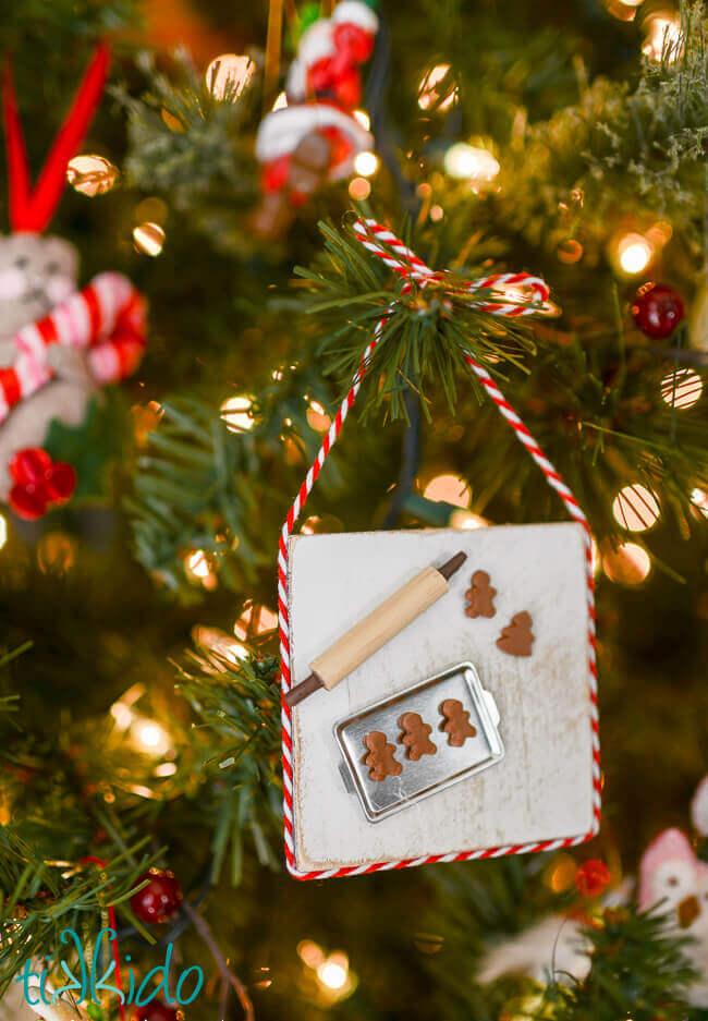 Mini Wooden Christmas Ornaments