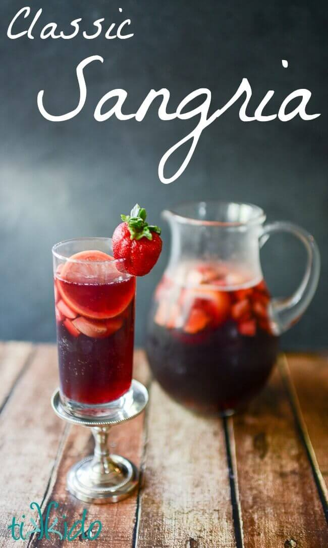Classic Spanish Red Sangria Recipe: