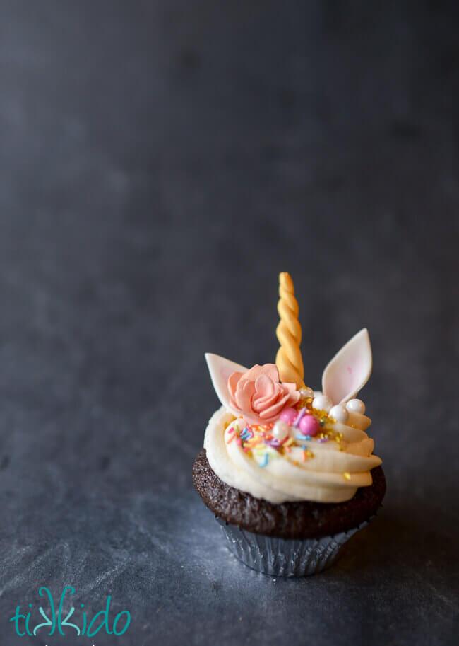 unicorn cupcakes tutorial tikkido